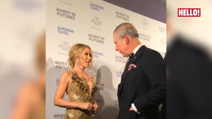 Prince Charles on Kylie Minogue: \'Her voice and movements get better and better every year!\'