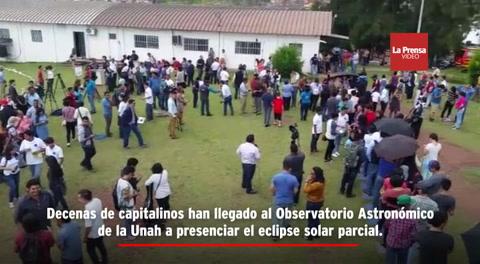 Honduras: Capitalinos esperan el eclipse de sol