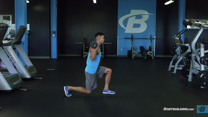 Barbell Reverse Lunge | Exercise Database