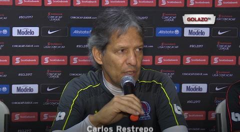 Carlos Restrepo: ''El jugar a la contra será importante para ellos''