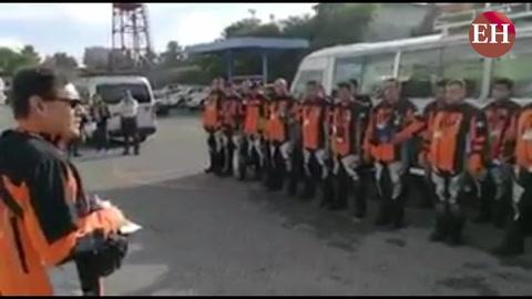 Guatemala y Ecuador envían más rescatistas hacia México