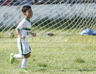 El golazo del niño Messi hondureño en las Ligas Menores de San Pedro Sula