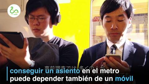 Japón: Embarazadas podrán pedir asiento en metro... por celular