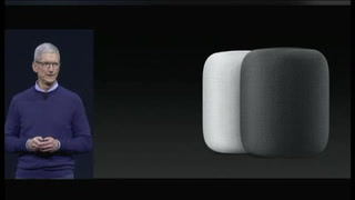 Apple presenta nueva tableta y el altavoz HomePod