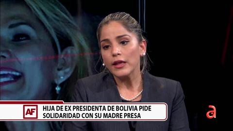 Entrevista exclusiva con la hija de ex presidenta de Bolivia, Jeanine Añes