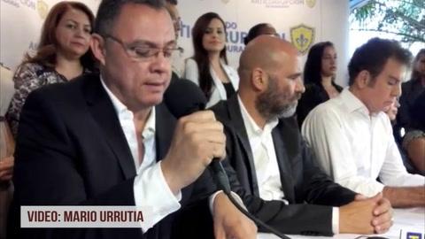 Conferencia de prensa del Pac sobre elecciones internas