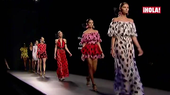 Fashion Week Madrid primavera-verano 2016: María Escoté