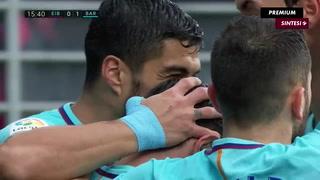 Barca vence al Eibar y se aleja a 10 puntos del Atlético
