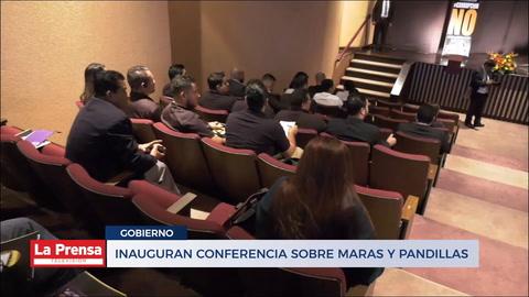 Inauguran conferencia sobre maras y pandillas