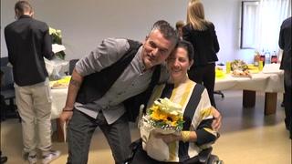 Enzo e Debora, nozze in ospedale a Motta