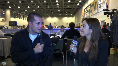 Derek Carr on young Raiders core & the idea of the Raiders moving to San Diego
