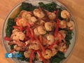 Spicy Shrimp & Spinach