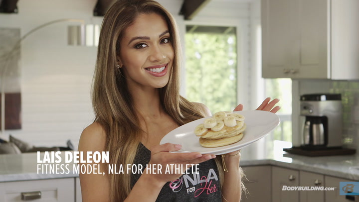 Lais DeLeon Recipes: Peanut Butter Protein Pancakes