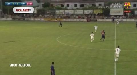 Video: Choco Lozano recibe las primeras críticas en Barcelona.