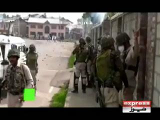 مقبوضہ کشمیر میں بھارتی فوج کی بربریت کا سلسلہ جاری