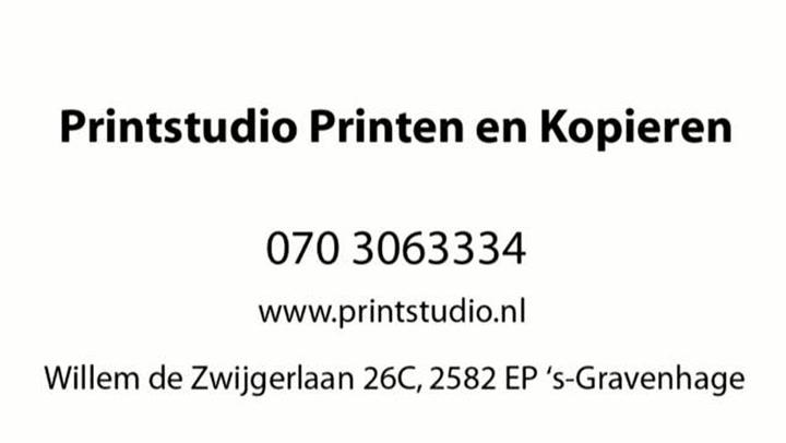Printstudio Printen en Kopieren - Video tour