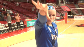 Plains Vs. Galena 2A State Volleyball Final Player Sound