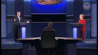 Clinton y Trump intercambian golpes en primer debate