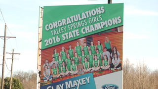 VALLEY SPRINGS GIRLS DEAL WITH ADVERSITY IN REACHING SUCCESS