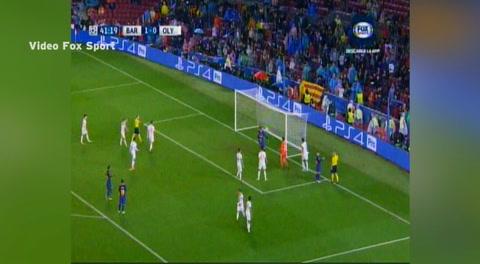 La increíble expulsión de Piqué en la Champions League