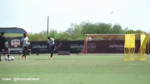 Así golea Romell Quioto con el Houston Dynamo de la MLS