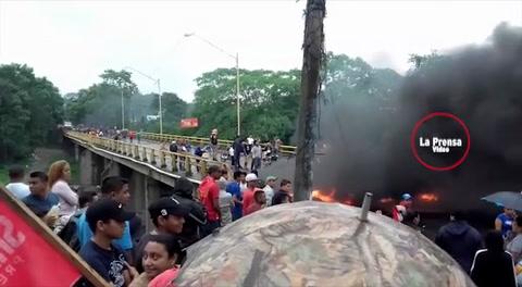 Alianza de Oposición en protestas y tomas de carreteras