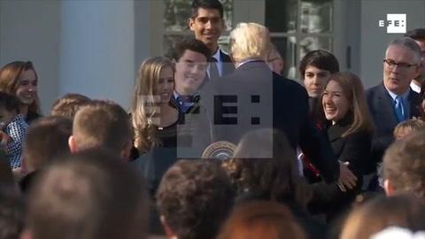 Trump promete a los antiabortistas que estará siempre a su lado