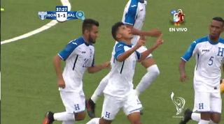 Honduras empata 1-1 ante El Salvador en los Juegos Centroamericanos