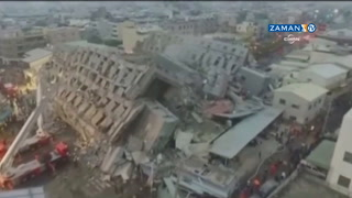 Tayvan'da büyük deprem: Çok sayıda kişi göçük altında