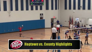 VIDEO- Hoptown Volleyball vs. County Highlights