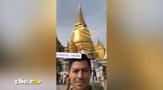 Las lujosas vacaciones de Roger Espinoza en Tailandia