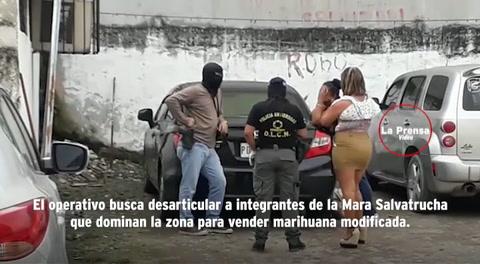 Decomisan nueva droga crispy en el centro de San Pedro Sula