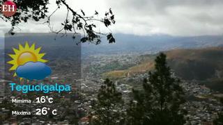 Conozca el estado del tiempo para este miércoles en Honduras