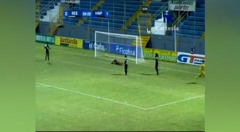 Gol de Domingo Salazár al Honduras Progreso (Liga Nacional 2017)