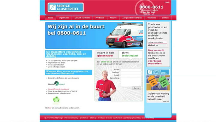 Service Glasherstel Heinkenszand - Bedrijfsvideo