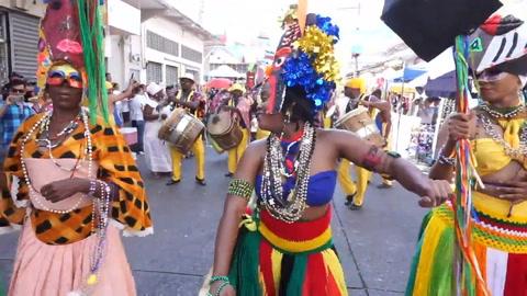 Hondureños festejan