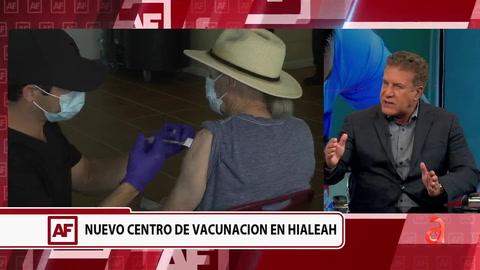 Alcalde de Hialeah habla sobre los nuevos centros de vacunación