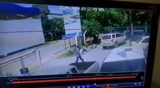 En video captan a asesino del directivo del Platense