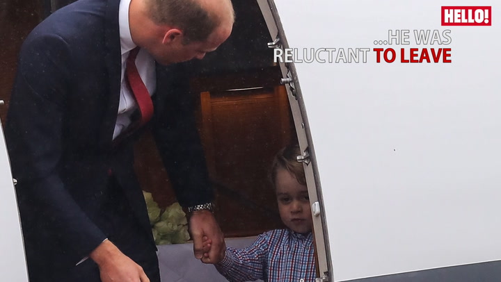 Prince George And Princess Charlotte\'s sweetest pictures from the royal tour