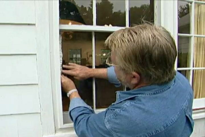 How To Replace A Broken Gl Window Pane Ron Hazelton