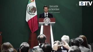 Peña Nieto promulga ley educativa en apoyo a 'dreamers'
