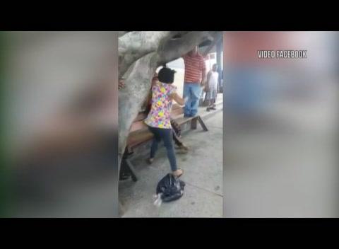 Mujeres pelean por amor de taxista en Choloma
