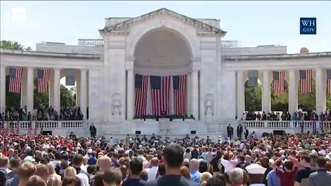 Trump declara el Día de los Caídos en EEUU como el día