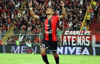 ¡Imparable! Roger Rojas anota su octavo gol en la Liga de Costa Rica