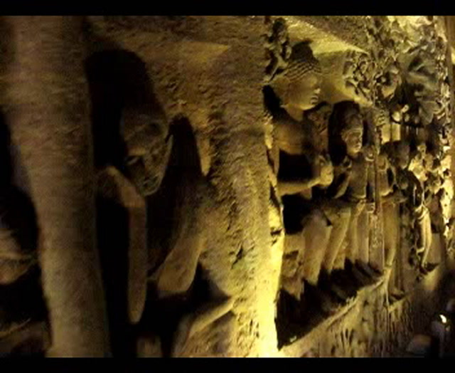 Ajanta & Ellora Videos-Ajanta Caves Paintings and Sculpture