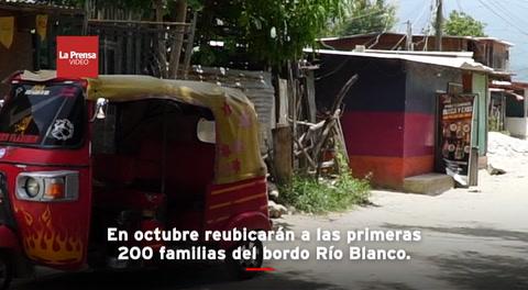 En octubre reubicarán a las primeras 200 familias del bordo Río Blanco