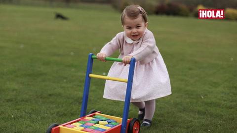 Entrevistamos al dueño de la firma española que viste a la princesa Charlotte en todos sus últimos retratos oficiales: 'Es una ilusión máxima que lleve nuestros vestidos'