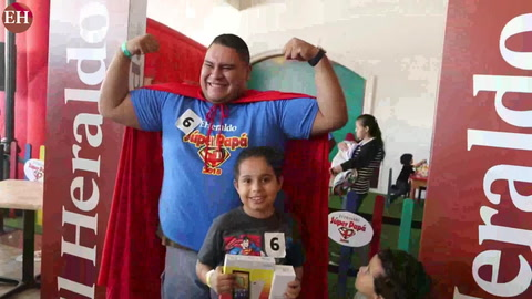 Carlos Fiallos ganador de Mi Súper Papá 2018 de EL HERALDO