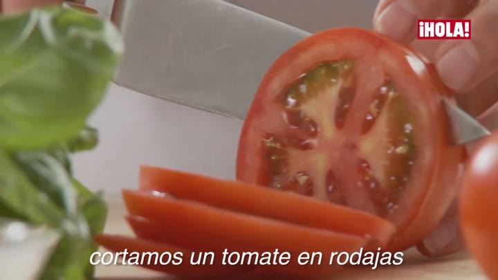 Vídeo-recetas: Ensalada Caprese