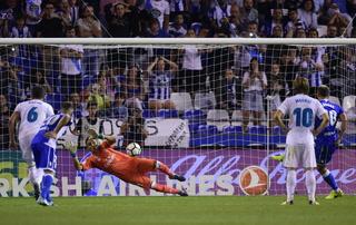 Keylor Navas sobresaliente en la victoria del Real Madrid con sus deslucidas atajadas